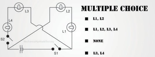 mechanical aptitude electrical circuits question archives