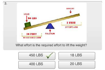 Free Mechanical Reasoning Test Review - Question #3